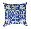 Blue and White Portugese Tile Throw Pillows
