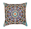 Beautiful Islamic Mosaic Mandala Throw Pillow