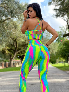 Neon is the new Black Leggings