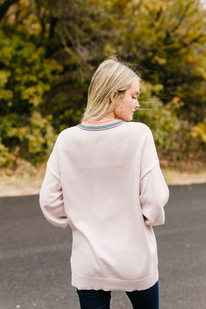 Look For Rainbows Sweater