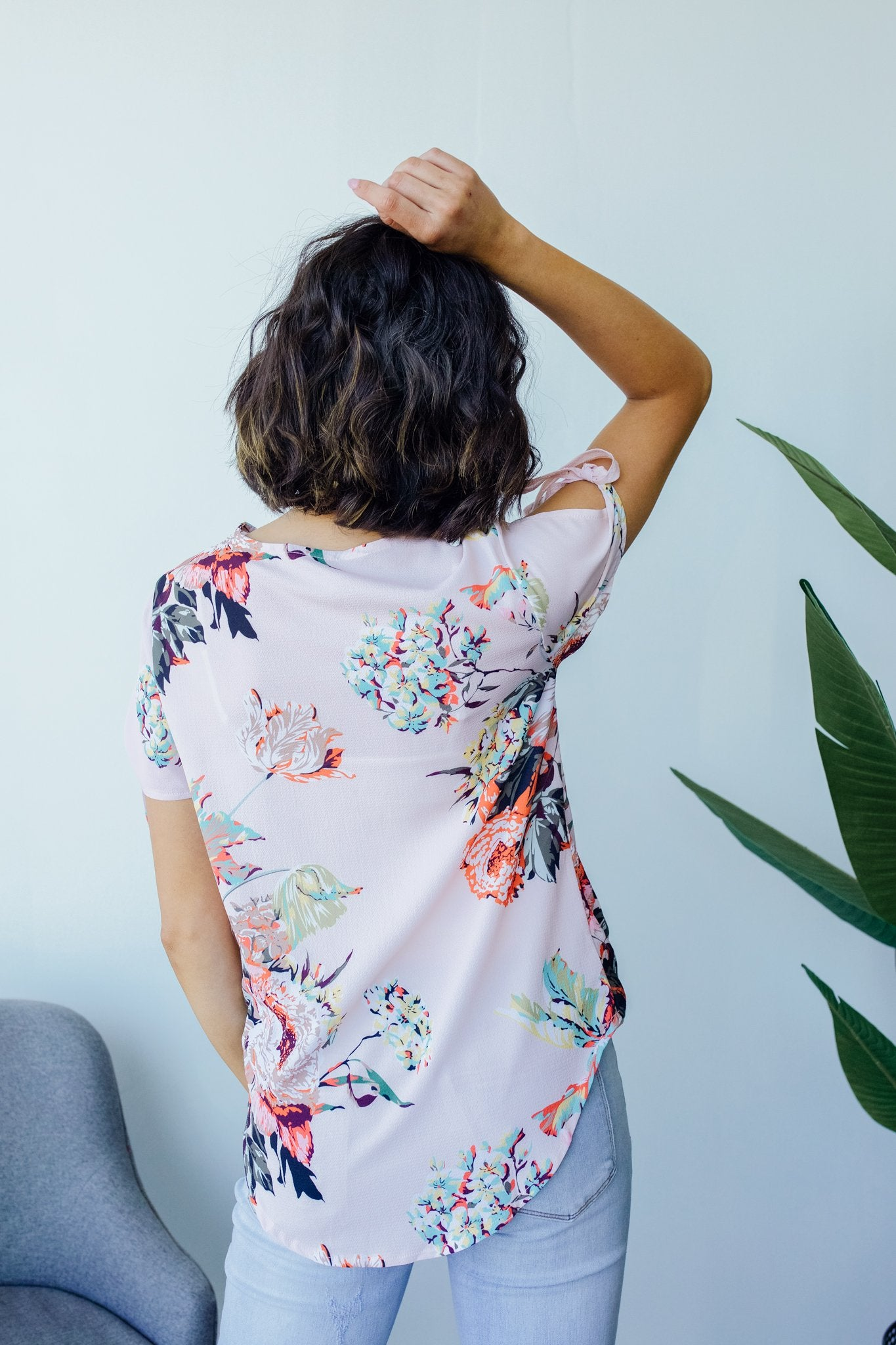 Osaka Oriental Floral Blouse