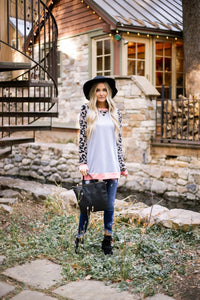 Paparazi Spotted Raglan Top