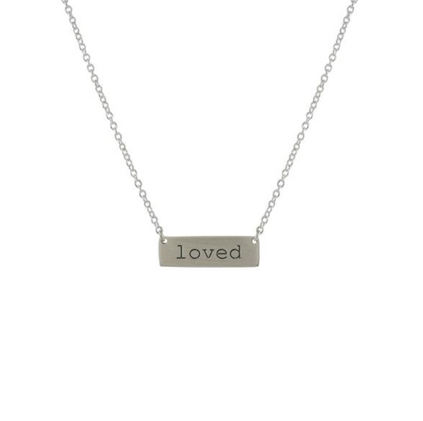 Tiny Loved Necklace