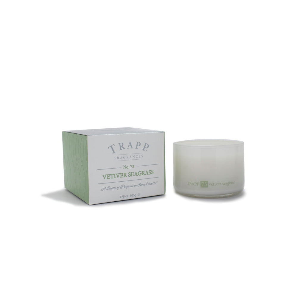 Ambiance Collection - No. 73 Vetiver Seagrass - 3.75 oz. Poured Candle