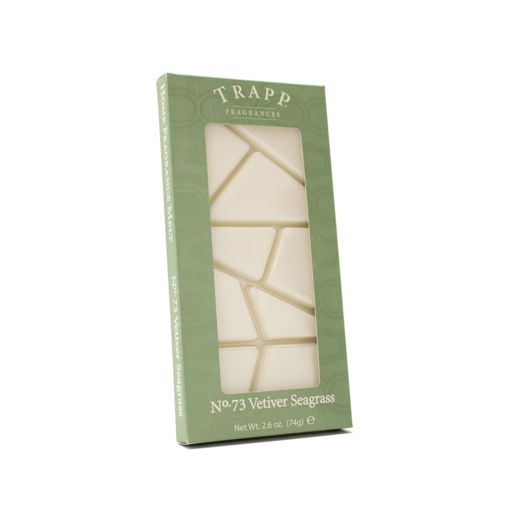 No. 73 Vetiver Seagrass - 2.6 oz. Home Fragrance Melts