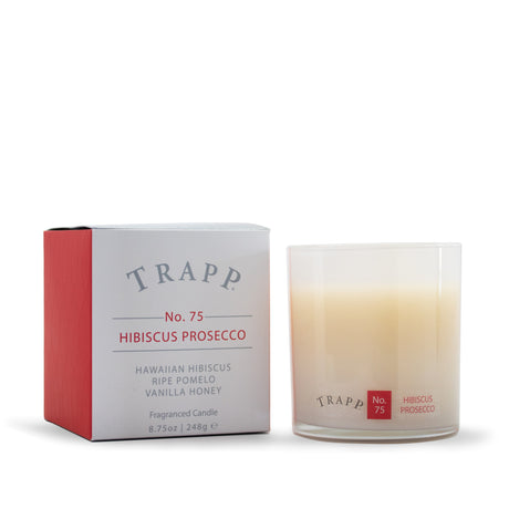 Ambiance Collection - No. 75 Hibiscus Prosecco - 8.75oz. Poured Candle