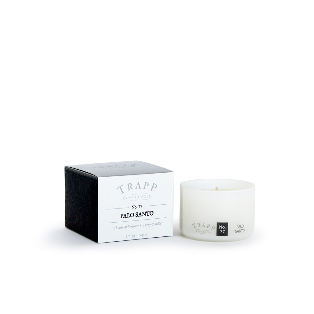 Ambiance Collection - No. 77 Palo Santo - 3.75 oz. Poured Candle