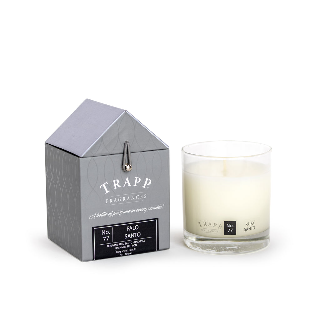 Trapp 7oz. Large Poured Candle - No. 77 Palo Santo