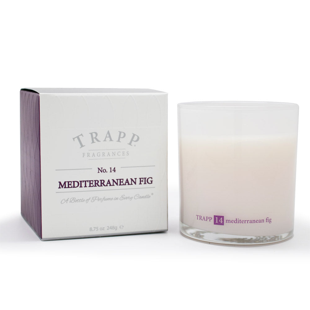 Ambiance Collection - No. 14 Mediterranean Fig - 8.75oz. Poured Candle