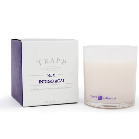 Ambiance Collection - No. 71 Indigo Acai - 8.75oz. Poured Candle