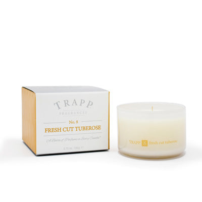 Ambiance Collection - No. 8 Fresh Cut Tuberose - 3.75oz. Poured Candle