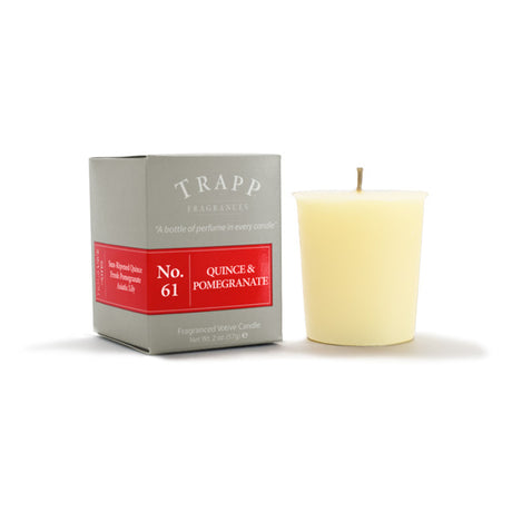 No. 61 Quince & Pomegranate - 2oz. Votive Candle