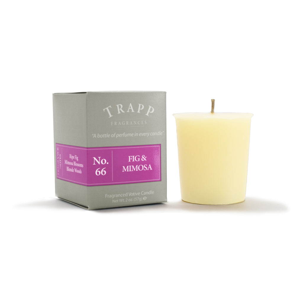 No. 66 Fig & Mimosa - 2oz. Votive Candle