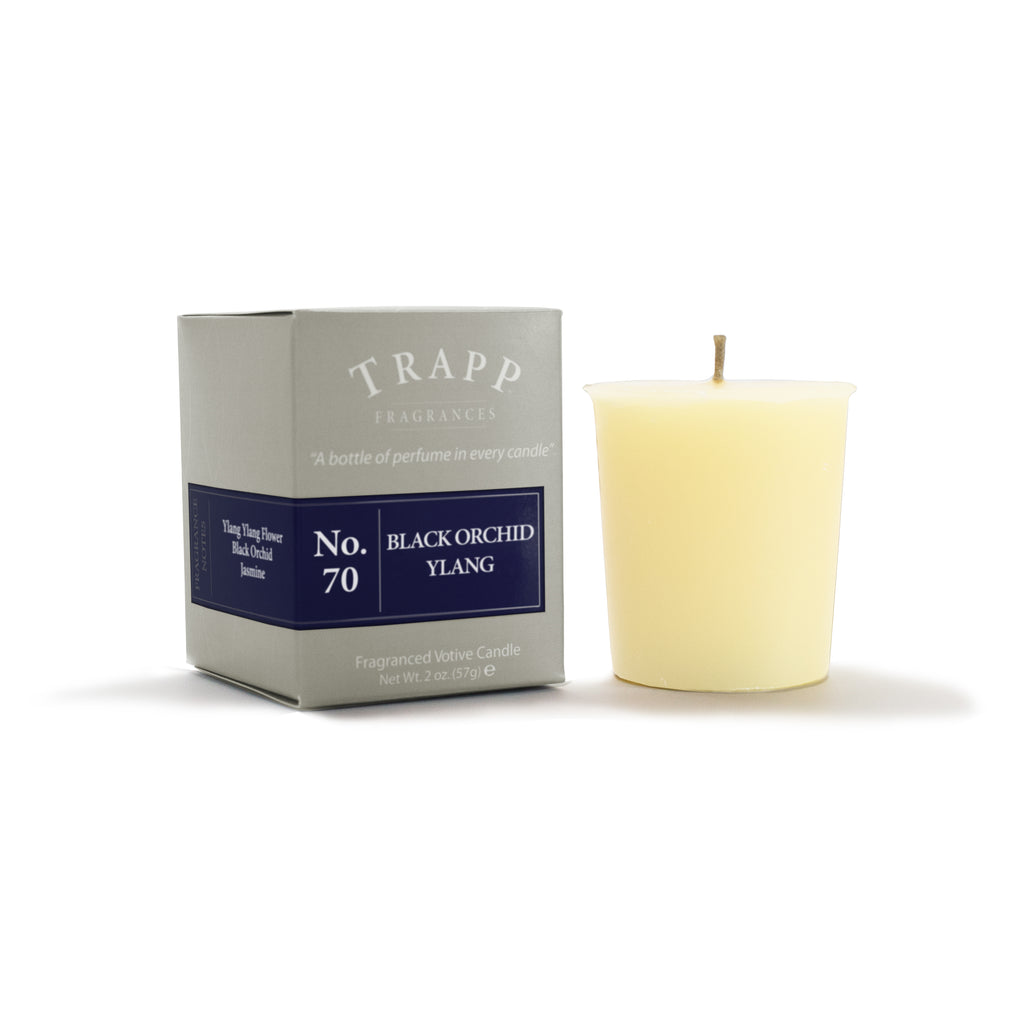No. 70 Black Orchid Ylang  - 2oz. Votive Candle