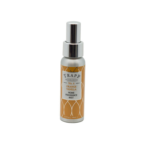 No. 4 Orange/Vanilla - 2.5 oz. Home Fragrance Mist