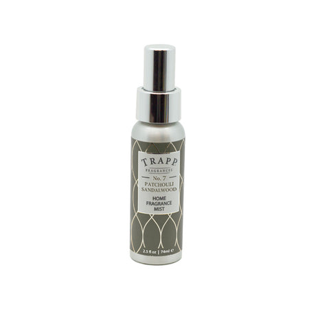 No. 7 Patchouli Sandalwood - 2.5 oz. Home Fragrance Mist