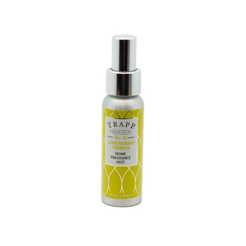 No. 10 Lemongrass Verbena - 2.5 oz. Home Fragrance Mist