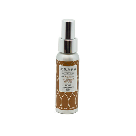 No. 45 Burmese Wood  - 2.5 oz. Home Fragrance Mist