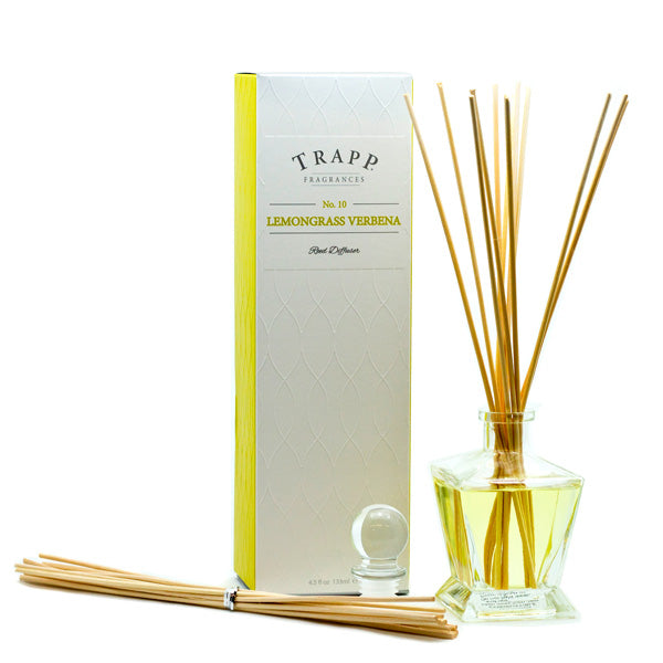 No. 10 Lemongrass Verbena - Kit Diffuser 4.5oz.
