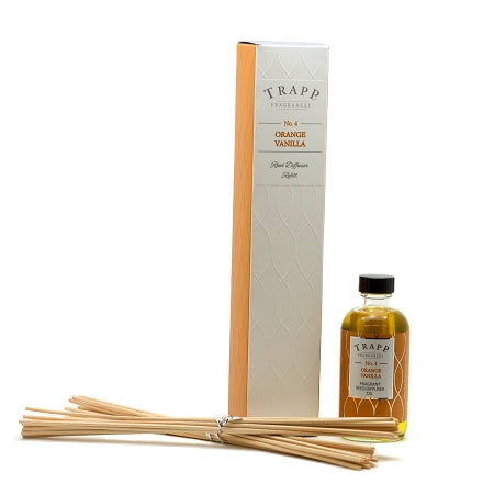 No. 4 Orange Vanilla - Refill Diffuser 4oz.