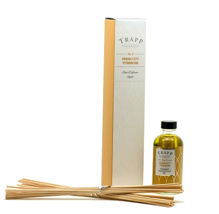 No. 8 Fresh Cut Tuberose - Refill Diffuser 4oz.