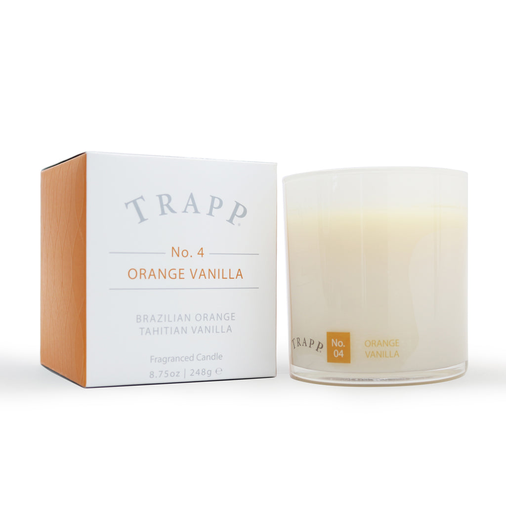 Ambiance Collection - No. 4 Orange Vanilla - 8.75 oz. Poured Candle