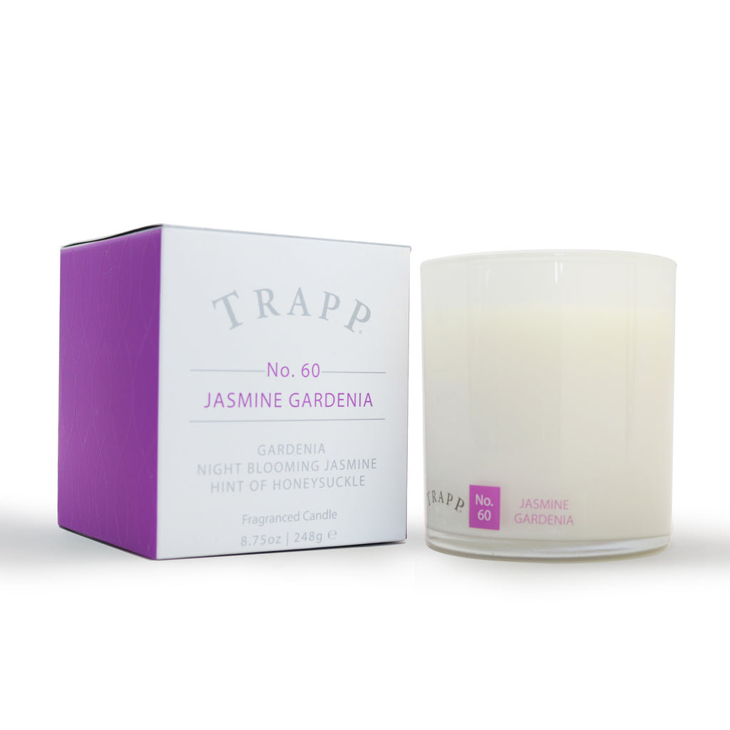 Ambiance Collection - No. 60 Jasmine Gardenia - 8.75 oz. Poured Candle