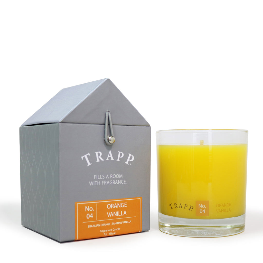 Trapp 7 oz. Large Poured Candle -<br> No. 4 Orange Vanilla