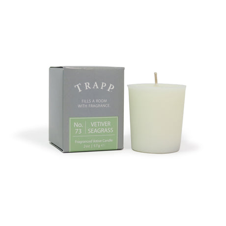 No. 73 Vetiver Seagrass - 2 oz. Votive Candle