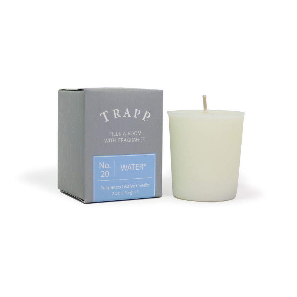 No. 20 Water - 2 oz. Votive Candle