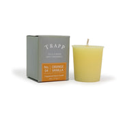 No. 4 Orange Vanilla - 2 oz. Votive Candle