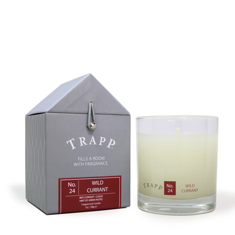 Trapp 7 oz. Large Poured Candle - <br> No. 24 Wild Currant