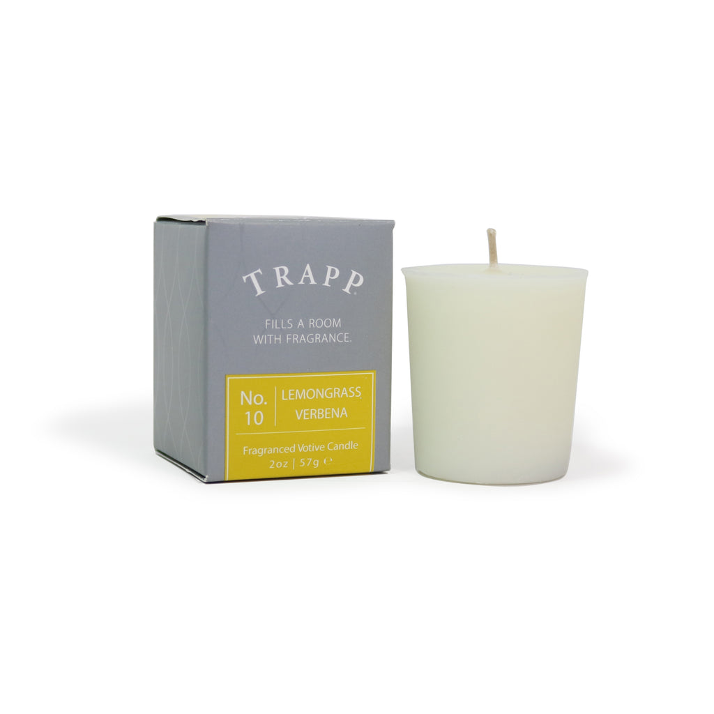 No. 10 Lemongrass Verbena - 2 oz. Votive Candle