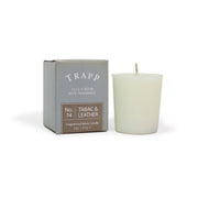 No. 74 Tabac & Leather Votive Candle