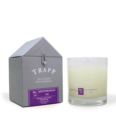 Trapp 7 oz. Large Poured Candle - <br> No. 14 Mediterranean Fig