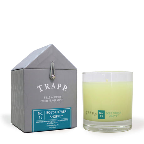 Trapp 7 oz. Large Poured Candle - <br> No. 13 Bob's Flower Shoppe