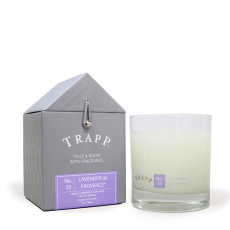 Trapp 7 oz. Large Poured Candle - <br> No. 25 Lavender de Provence