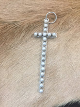 Fresh water pearl cross