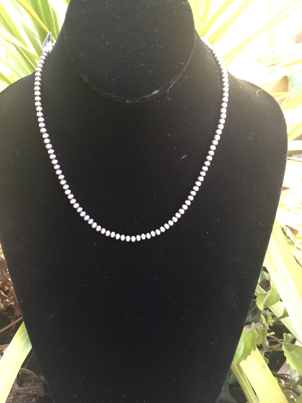 Micro Navajo pearls 4mm 18 inches