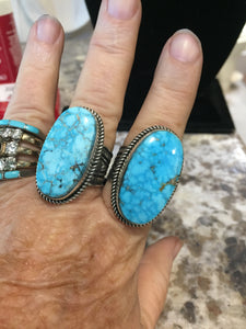Oval at perfection Turquoise ring