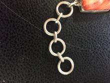 Small orange spiny oyster clasp bracelet