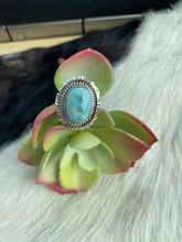 The Speckled Dry Creek Turquoise ring
