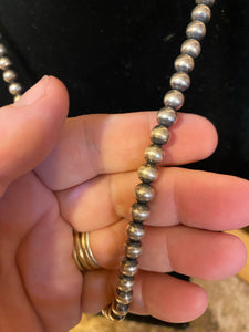 Navajo Pearls 6mm 18 inch