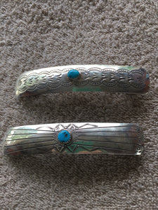 """The Barrett"" Sterling silver with Turquoise"