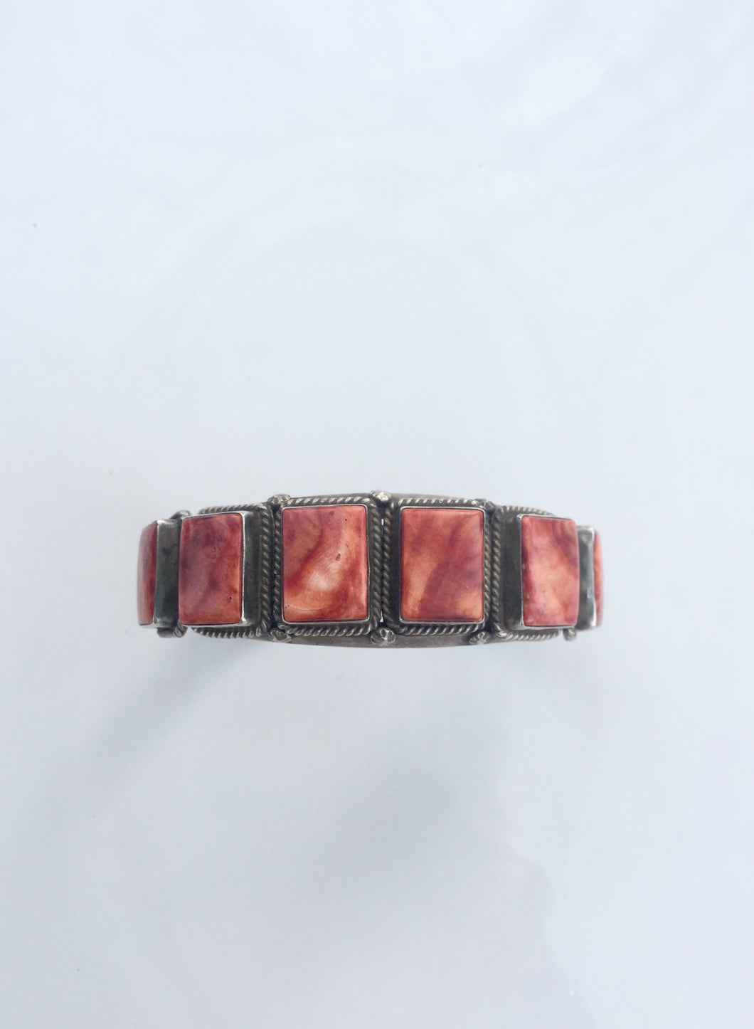 Spiny Oyster Vintage Square Cuff
