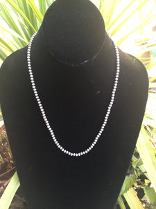Micro Navajo pearls 4mm 20 inches