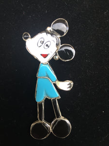 Minnie Mouse pendant and pin combo