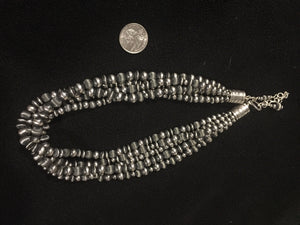 """The Five O""  five strand Navajo pearls"