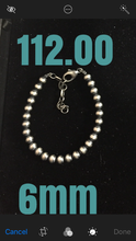 6mm Navajo pearl bracelet with extender