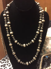 Multi shaped strand Navajo pearls